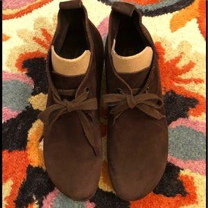 Arche Hablo Leather Wedge Booti